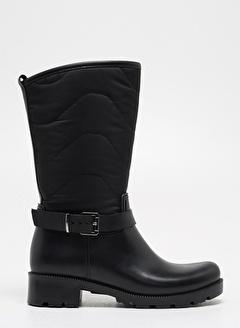 F By Fabrika Kadın Siyah Çizme LINA